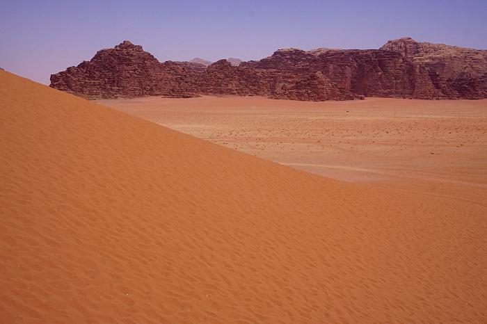 Red dune Wadi Rum Jordanie