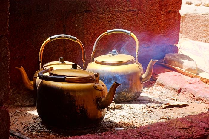 thé bédouin Wadi Rum Jordanie