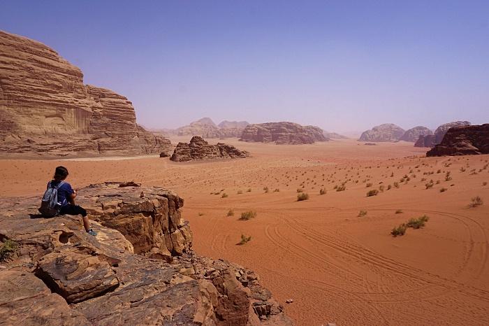Lawrence house Wadi Rum Jordanie
