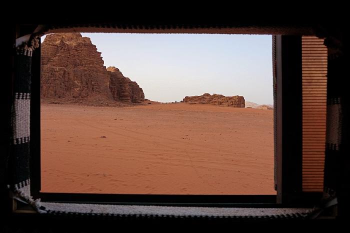 Campement bédouin Jordanie Wadi Rum