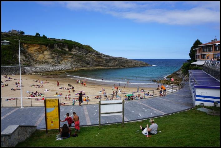 Playa El Sablon, Llanes, Asturies, Espagne