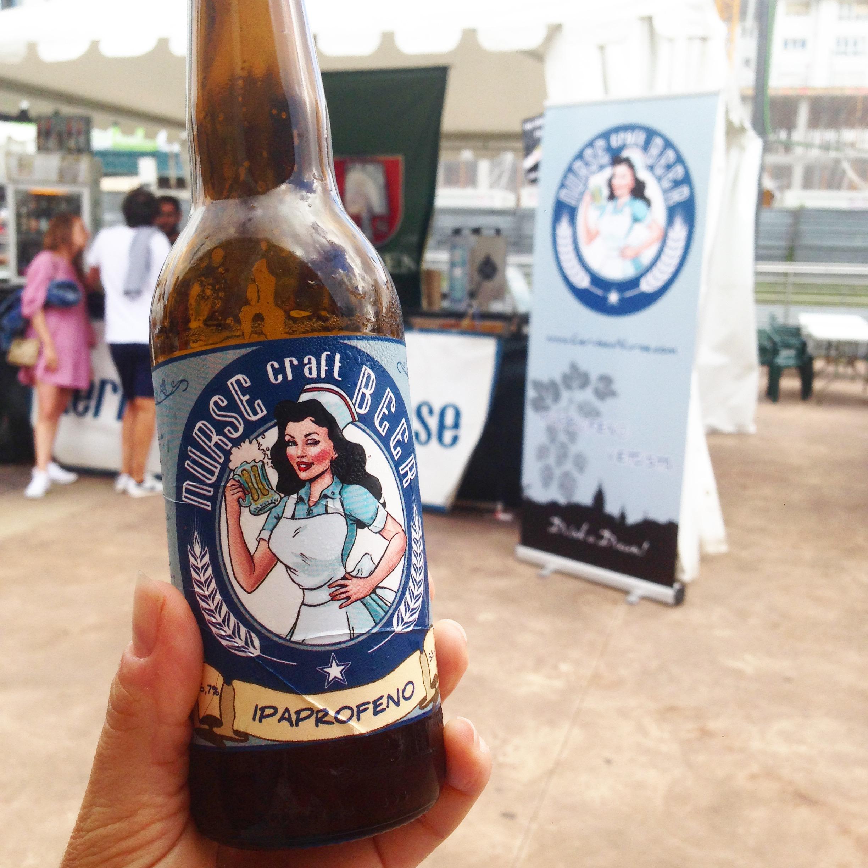 Nurse Cerveza, Festival de la bière Avilés