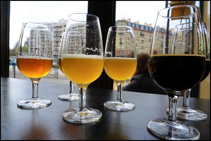 Dégustation de bières artisanales à l'Atalante, Paris, 19e, beer tour
