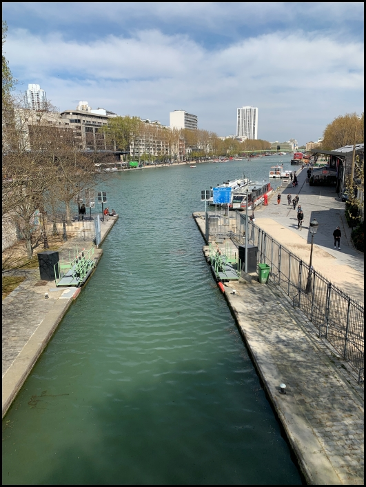 Canal de l'Ourqc, 19e arrondissement, Paris