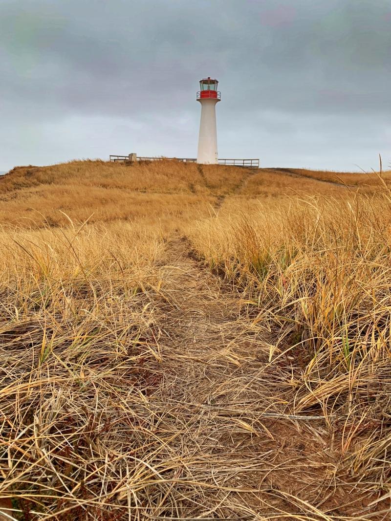 Sentier des caps Îles de la Madeleine, phare Borgot